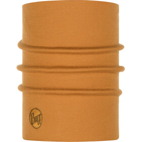 Buff Heavyweight Merino Wool Tubo de cuello, solid camel